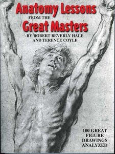 Anatomy Lessons From the Great Masters bk jacket cover